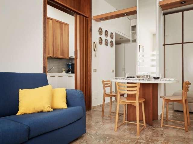 Cozy studio apartment for rent in Fiera Milano, Milan