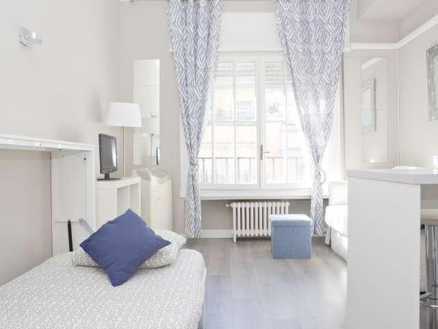 Studio apartment for rent in Salamanca, Madird