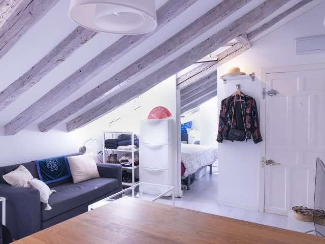 Gemütliche 1-Zimmer-Wohnung zur Miete in Malasaña, Madrid