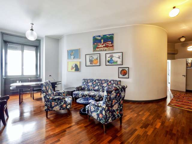 Beautiful 2-bedroom apartment for rent in Milan
