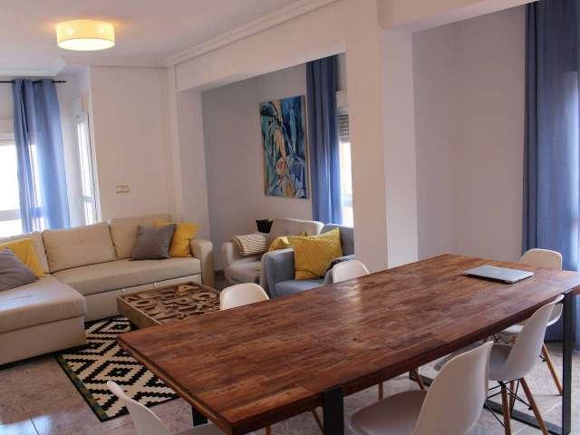Rustikale 1-Zimmer-Wohnung zur Miete in La Guindalera, Madrid