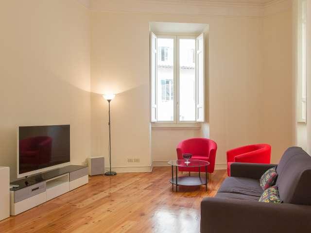 Spacious studio apartment for rent in Centro Storico, Rome