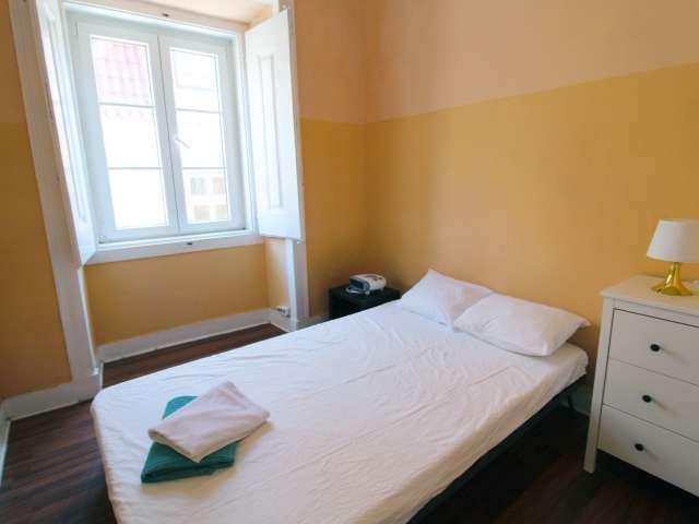 Bom quarto para alugar no Bairro Alto, Lisboa