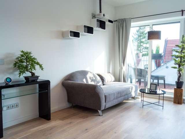 1-Zimmer-Wohnung mit Balkon in Treptow-Köpeni zu vermieten
