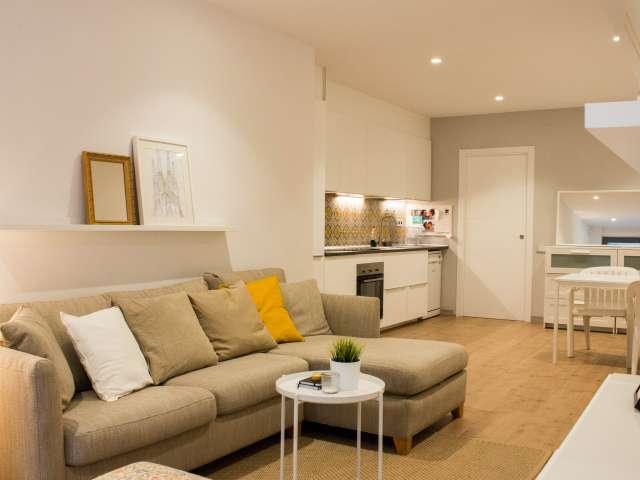 Einladende 1-Zimmer-Wohnung zu vermieten, Les Corts, Barcelona