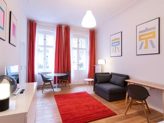 Lebendige Studio-Wohnung zu vermieten in Prenzlauer Berg, Berlin