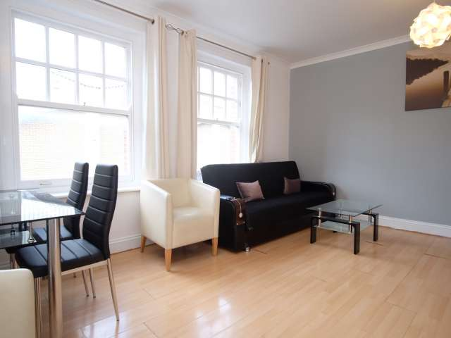 Modern 1-bedroom apartment for rent in Shoreditch, London