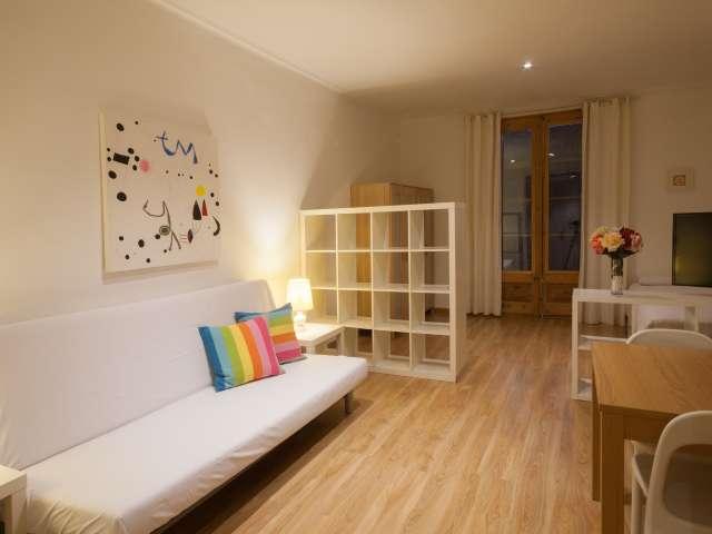 Spazioso appartamento in affitto a Barrio Gotico 2 camere da letto