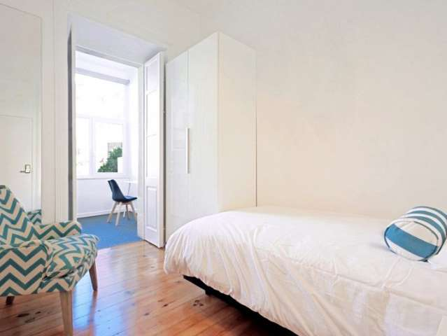 Ideal studio apartment for rent in Arroios, Lisbon