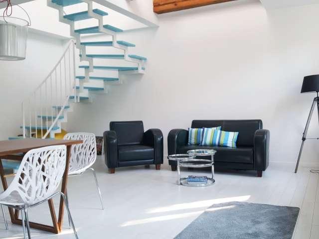 Moderne Zwei-Etagen-Wohnung zu vermieten in Prenzlauer Berg, Berlin