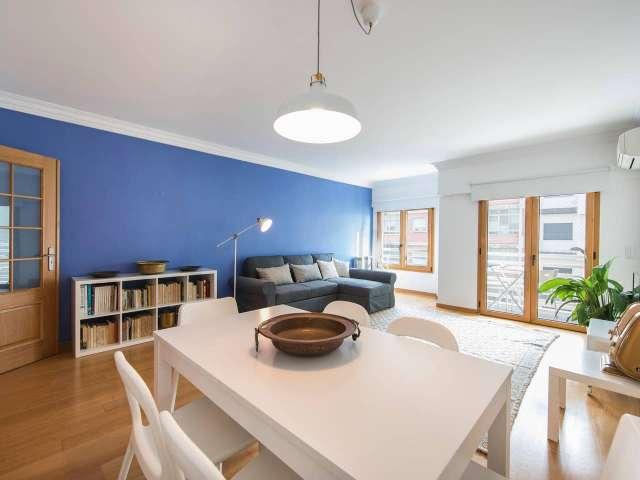 Apartamento com 1 quarto para alugar em Alvalade, Lisboa