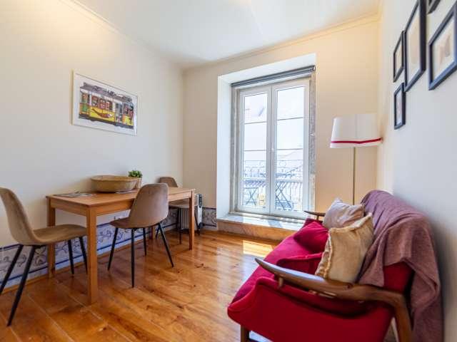 Apartamento de 2 quartos para alugar em Santa Maria Maior, Lisboa