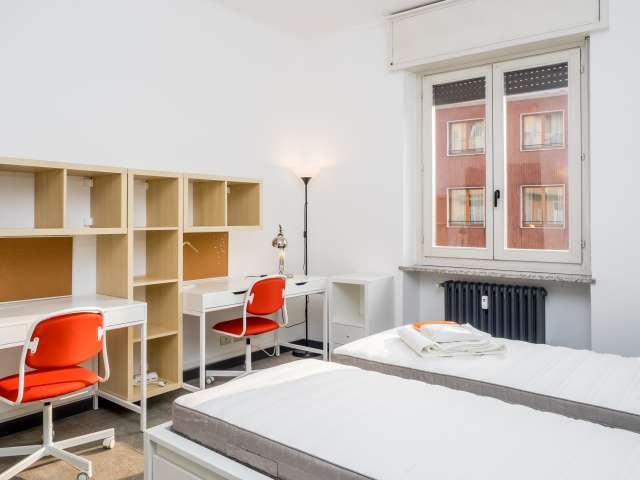 Shared room in apartment in Zona Solari, Milan