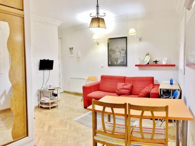 Fun 2-Zimmer-Wohnung zur Miete in Argüelles, Madrid