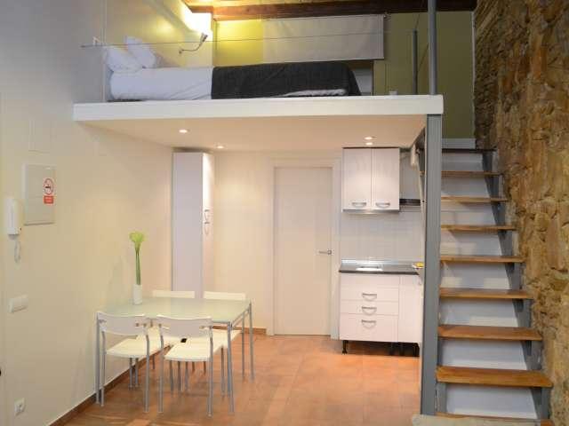 Beautiful studio apartment for rent in Poble-sec, Barcelona