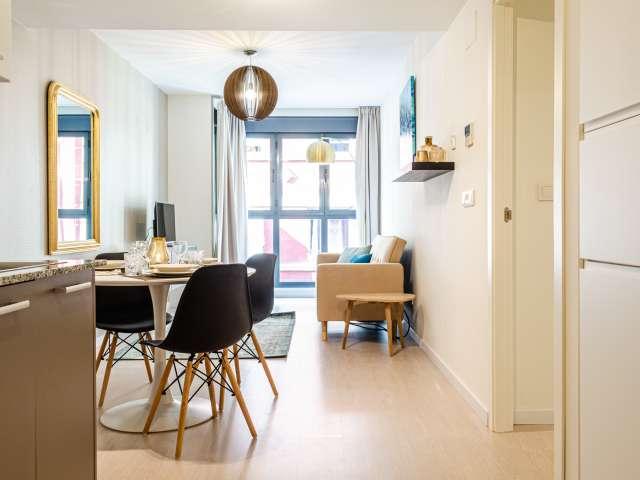 Chic 1-bedroom apartment for rent in La Saïdía, Valencia