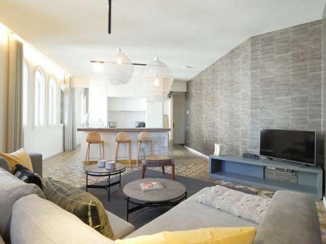 Appartamento in affitto in Eixample Dreta, Barcelona 1 camera da letto