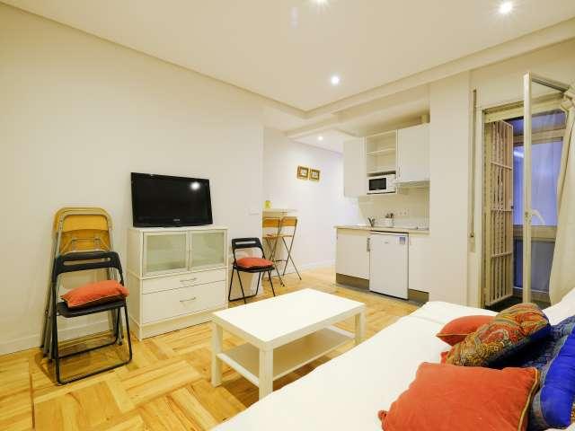 Studio apartment for rent in Almagro y Trafalgar, Madrid