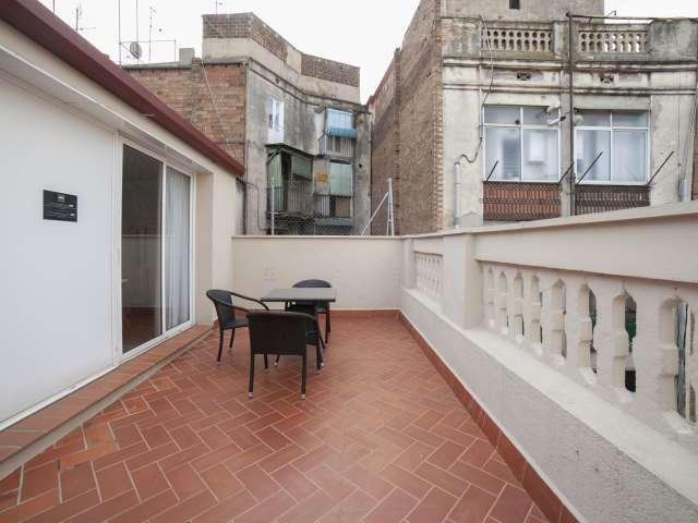 1-Zimmer-Wohnung zur Miete in Eixample Dreta Barcelona