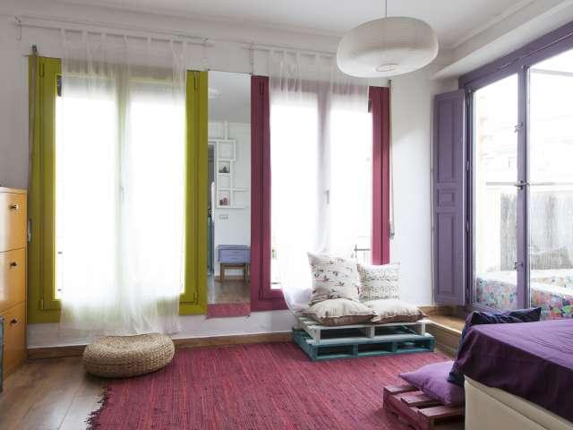 Cool studio apartment for rent in Acacias, Madrid