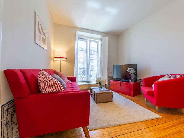 Apartamento de 2 quartos elegante para alugar em Santa Maria Maior