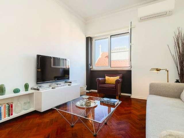 Ótimo apartamento de 1 quarto para alugar em Santo Antonio, Lisboa
