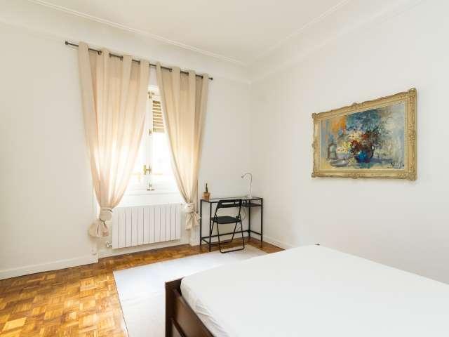 Wohnen Sie in einer 7-Zimmer-Wohnung in Argüelles, Madrid