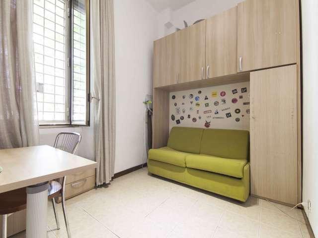 3 dormitorios en alquiler en el Testaccio, en Roma, con terraza