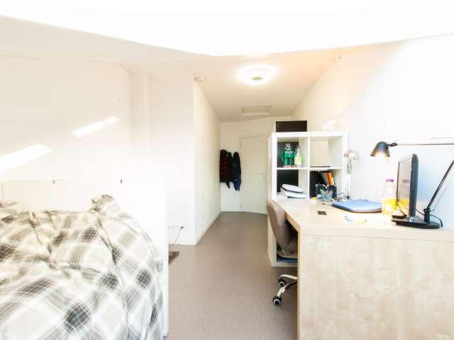 Huge room in 2-bedroom apartment in Anderlecht, Brussels