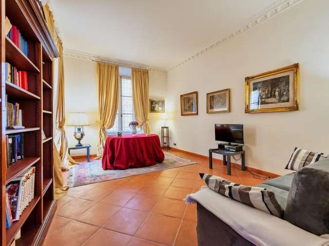 Classic apartment with 2 bedrooms to rent in Prati, Rome