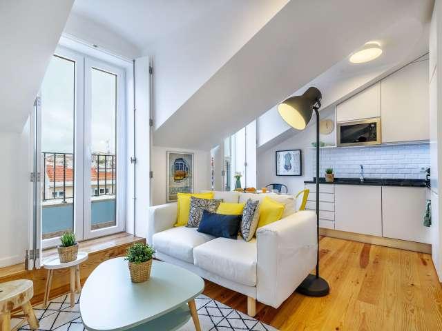 Studio apartment for rent in Penha França, Lisbon