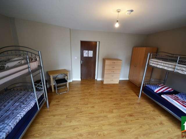Lits à louer, chambre partagée, appartement de 2 chambres à Dublin