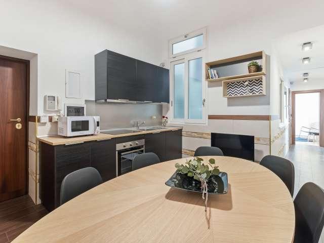 Moderno appartamento con 4 camere da letto in affitto a Termini, Roma