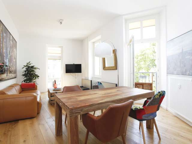 Airy apartment with 1 bedroom in Charlottenburg, Berlin