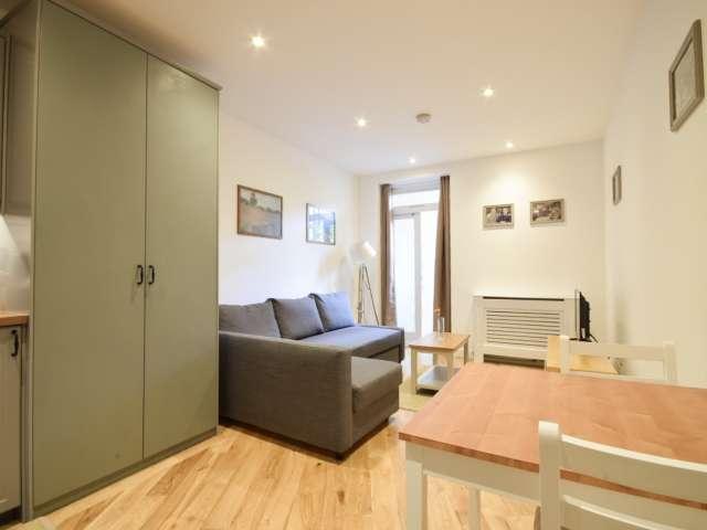 Cosy studio flat to rent in Earls Court, West London
