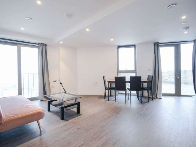 Stylish 1-bedroom apartment to rent in Beckton, London
