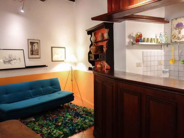 Lovely studio apartment for rent in Rome's historic centre
