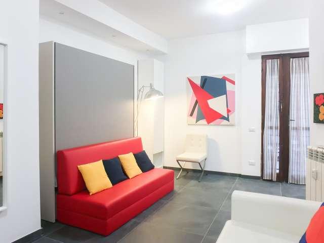 Moderno appartamento con 1 camera da letto in affitto a Testaccio, Roma