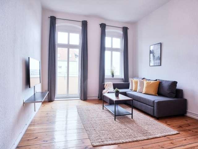 Schöne Wohnung mit 1 Schlafzimmer in Charlottenburg zu vermieten