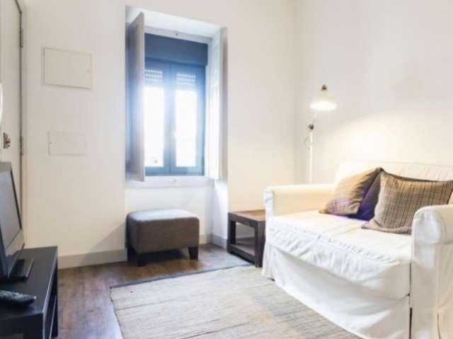 Lovely studio apartment for rent in Alvalde, Lisboa