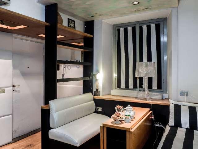 Fantastic studio apartment for rent in Brera, Milan