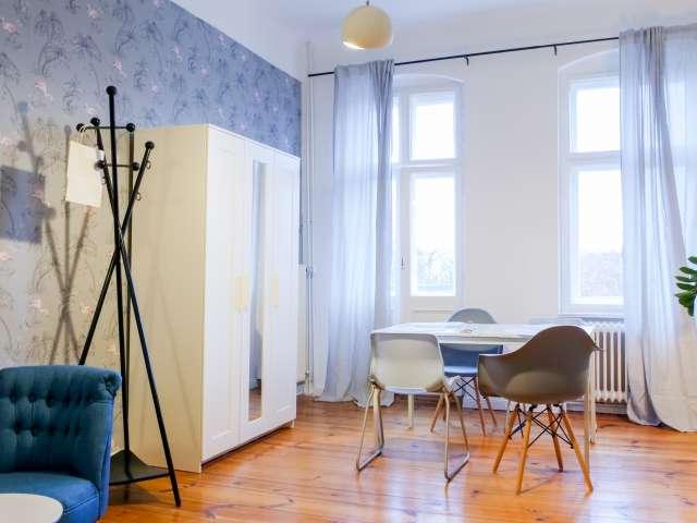 Luminous 1-bedroom apartment for rent in Neukölln, Berlin