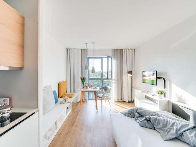 Sonniges Studio-Apartment zur Miete in Lichtenberg, Berlin