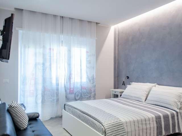 Luminoso appartamento con 1 camera da letto con aria condizionata in affitto nella tranquilla zona di Ciampino