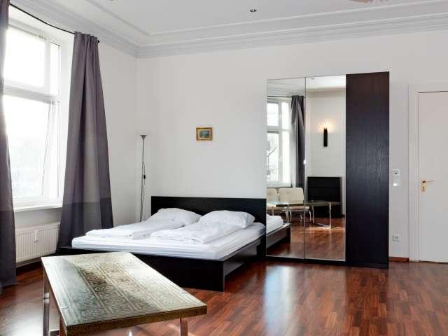 Coole Wohnung mit 1 Schlafzimmer zu vermieten in Moabit, Berlin