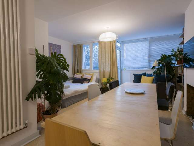 Stylish 2-bedroom flat to rent in Camden, London