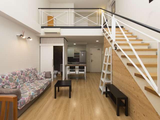 Chic studio apartment for rent in San Blas, Madrid