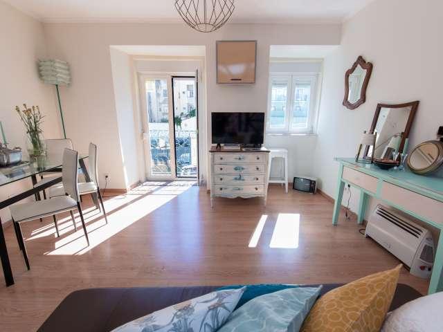 Studio apartment for rent in Arroios, Lisbon