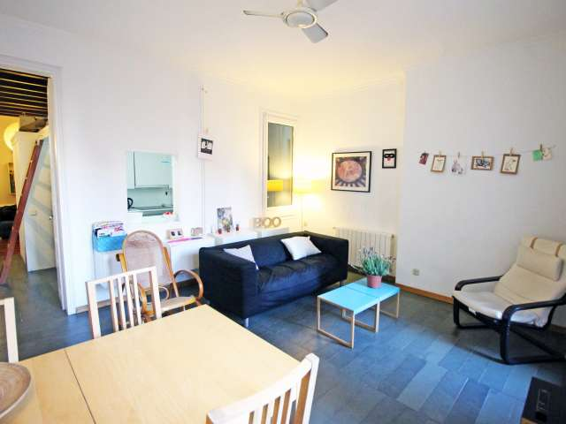 80m2 2-Zimmer-Wohnung zur Miete in El Raval, Barcelona