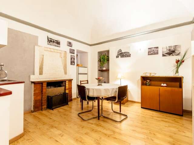 Spacious Studio for Rent in Rome City Centre